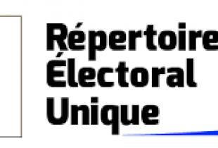 Informations Répertoire Électoral Unique